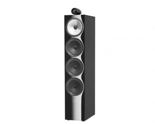 Bowers & Wilkins 702-2 Loudspeakers black grill off